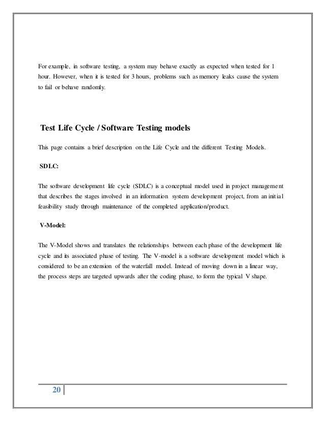 Selenium Testing Project report