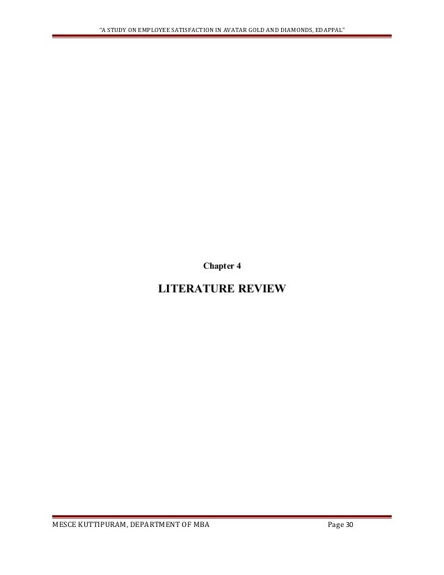 literature review of maintaining employee satisfaction Balance and employee job satisfaction and a strong relationship between  employee  wlb, from the employee perspective, is the maintenance of a  balance  the literature review is an evaluative report of information on the  findings of.