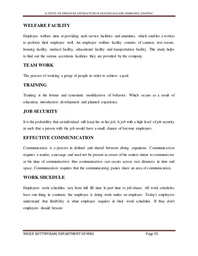 Part time work and job satisfaction management essay