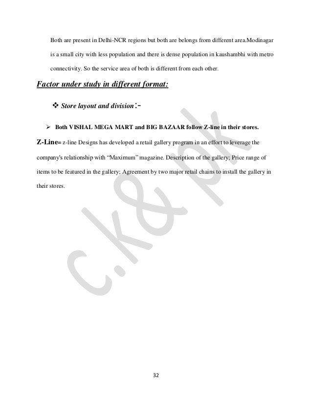 swot analysis of vishal mega mart Vishal mega mart history vishal retail ltd (figure-1) has a strong presence in manufacturing and retailing of readymade readymade garments (apparels)retailing (apparels)retailing of non-apparels and a large variety of fmcg products.
