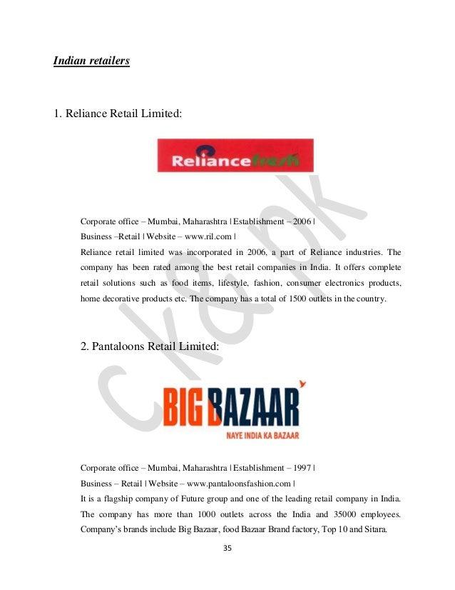 supply chain management of vishal mega mart retail Professor gaur's research interests lie in retail operations and supply chain management gaur, vishal, 2013, supply chain management.