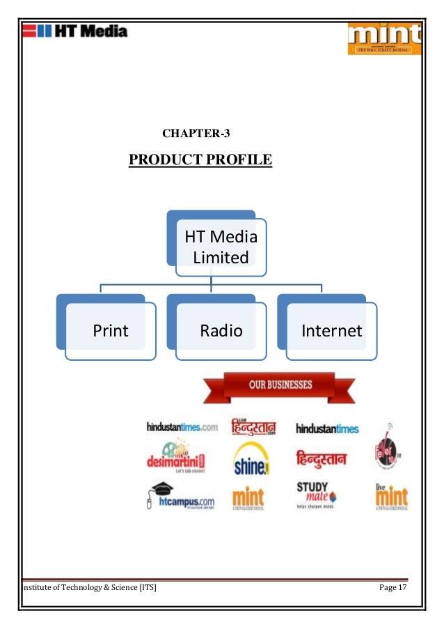 Project report on ht media ltd mint 17 altavistaventures Gallery