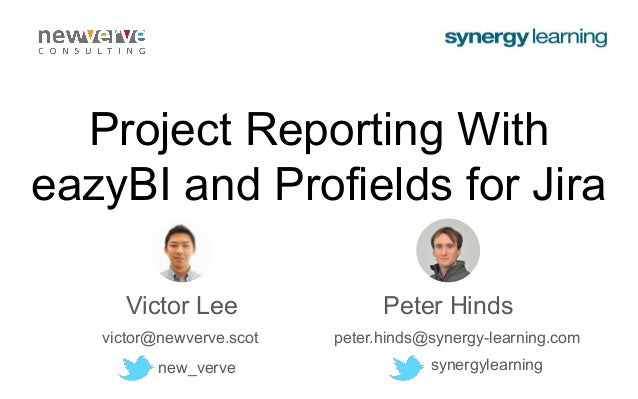 Project Reporting With eazyBI and Profields for Jira Project Reporting With eazyBI and Profields for Jira Project Reporting ...