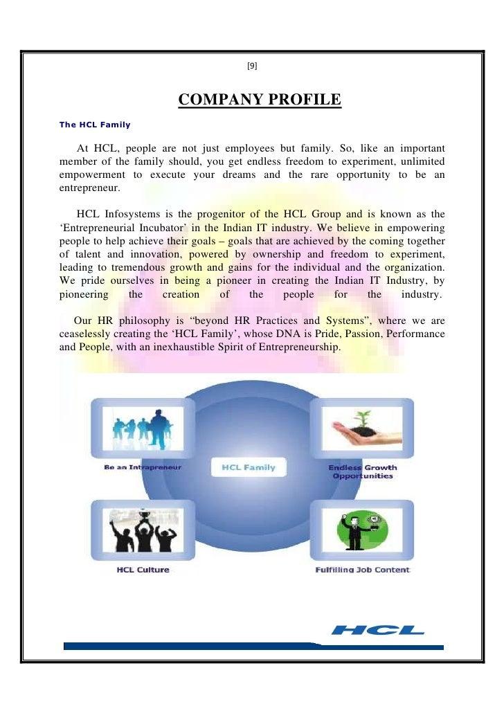 ABOUT HCL COMPANY PROFILE PDF DOWNLOAD