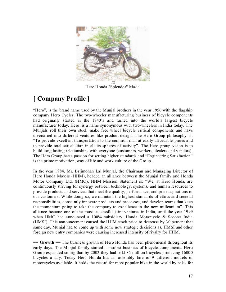 hero honda strategy report Brand-wise sales report of bikes & scooters [march 2017] honda activa was the number one seller with 2,39,339 units moving out of the dealerships.