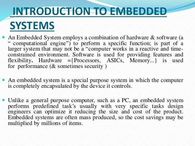 Ppt On 8051 Microcontroller And Embedded System