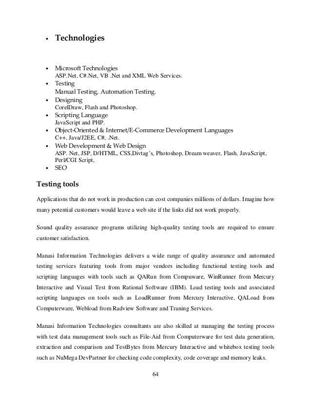 Case study 52 project management at dotcomcom