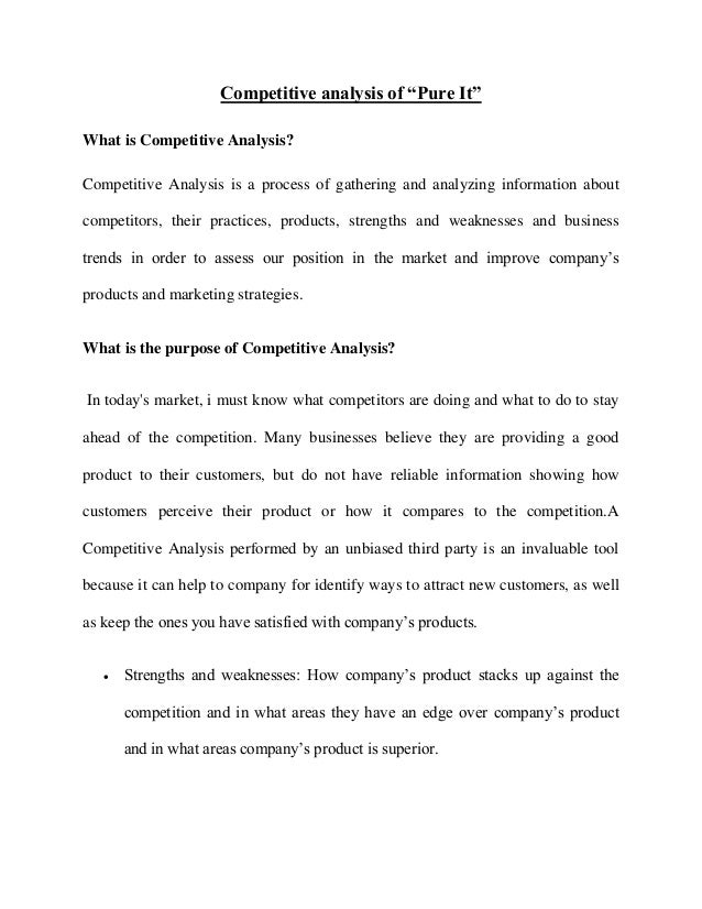 Marketing mix thesis
