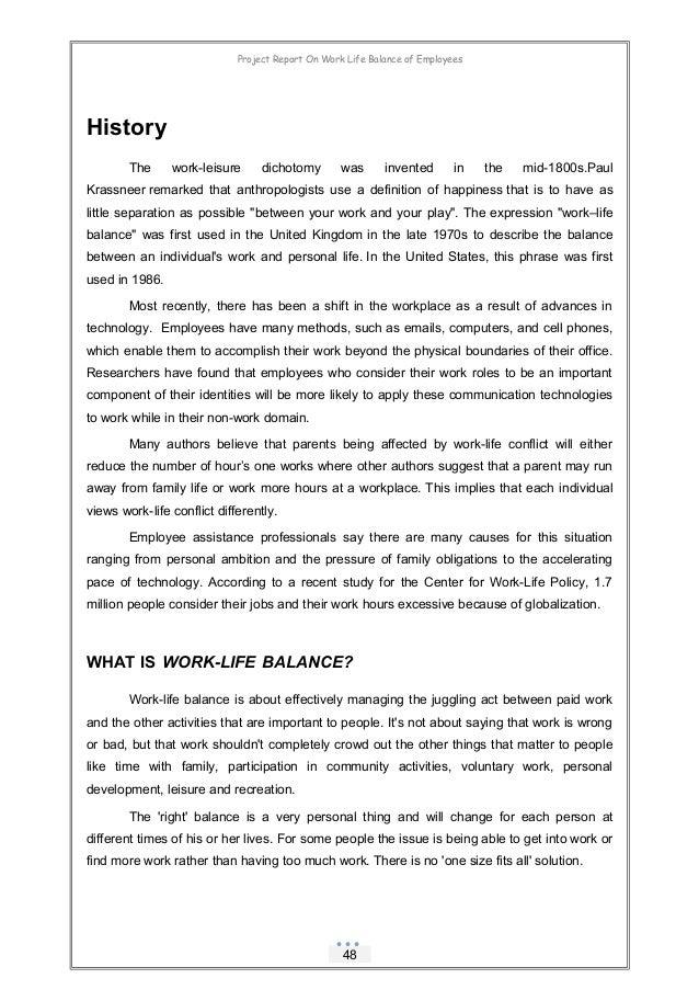 work life balance of female employees pdf