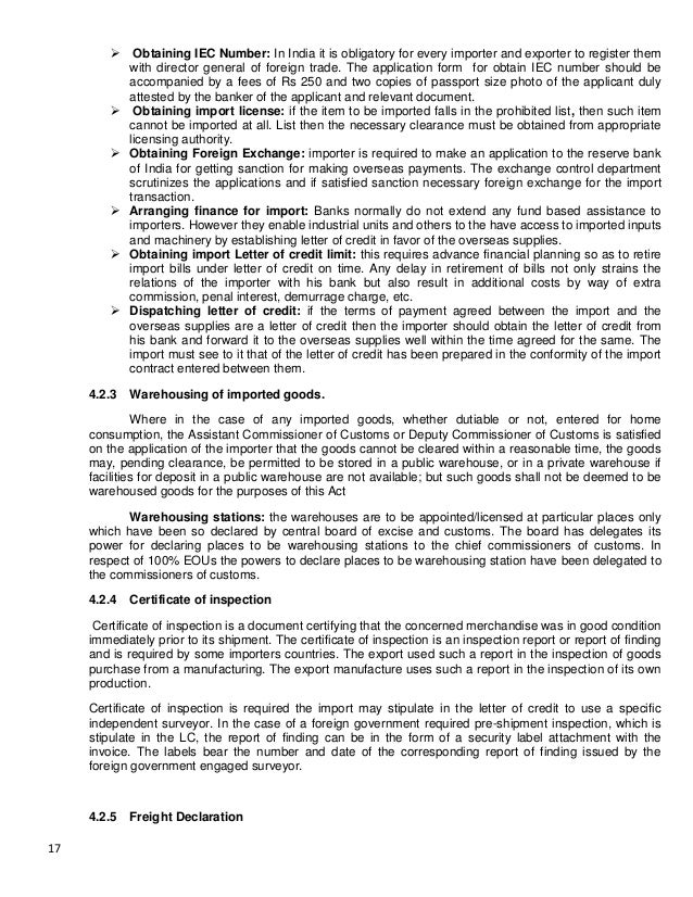 import export interview report Foreign trade is the official source for us export and import statistics and responsible for issuing regulations governing the reporting of all export shipments from the united states if you're searching for import or export statistics, information on export regulations, commodity classifications, or a host of other trade related topics .