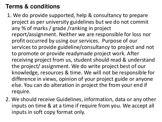 retail terms and conditions template - project report titles for mba in economics