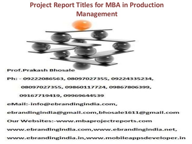 a project paper in production operations management Operations activities often include product creation, development, production and distribution it deals with all operations within the organization related activities include managing purchases, inventory control, quality control, storage, logistics and evaluations the nature of how operations management is carried out in an.