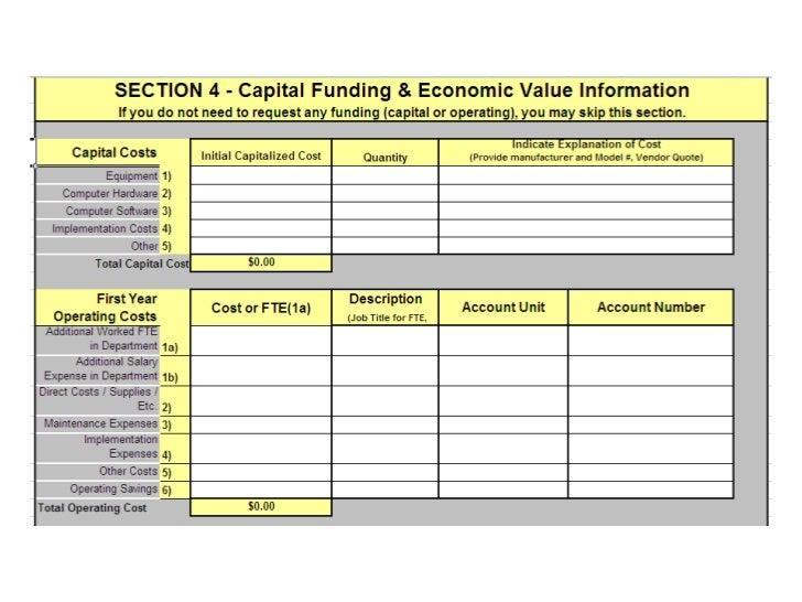 ... Total Cost Of Ownership Analysisu003cbr /u003eCan Load Into ROI Modelsu003cbr  /u003eCaptures Financial Rationale U003cbr /u003eDownload Budget Request Form From  SlideShareu003cbr / ...