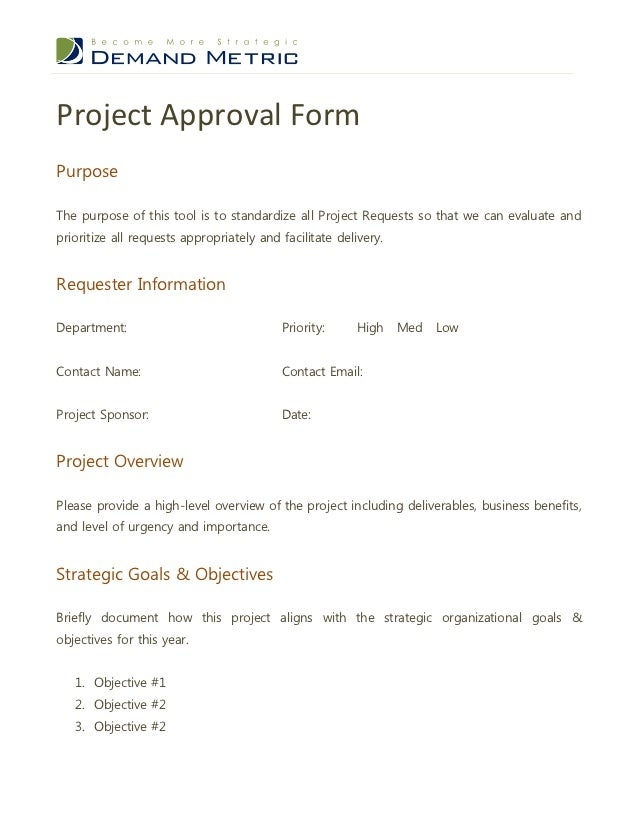 Best Project Request Form Images - Best Resume Examples For Your