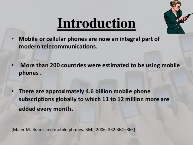 Research paper about mobile phones