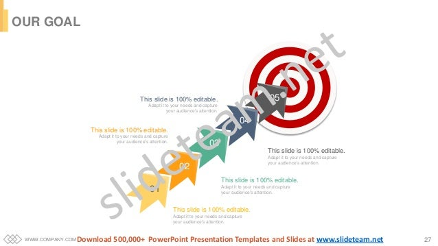 WWW.COMPANY.COM 27 01 02 03 04 05 This slide is 100% editable. Adapt it to your needs and capture your audience's attentio...