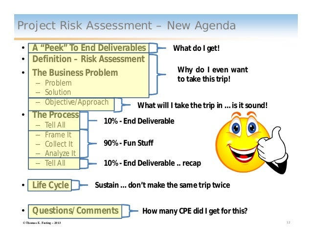 Project Risk Assessment Presentation Feb