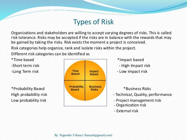 project management risk management Article describing how to do and improve project risk management, focusing on identifying and managing real risk not just analysing it.