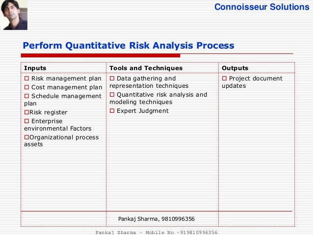 Project Risk Management - Pmbok5