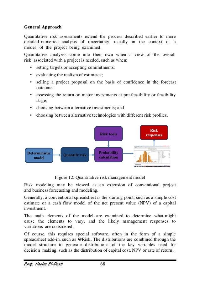 project risk management training manual rh slideshare net project management training manual template project management course manual
