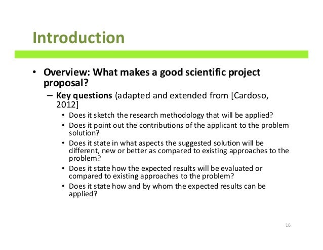 How To Write Good Scientific Project Proposals A Comprehensive Guide