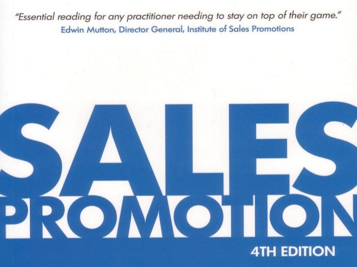 Project work sales promotion