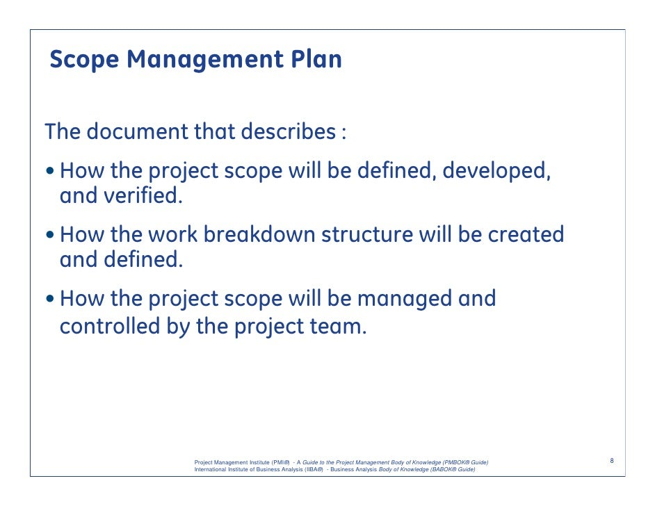 project requirements and analysis Requirements analysis avoidance of feature creep and documentation of all aspects of the project development process from start to finish.