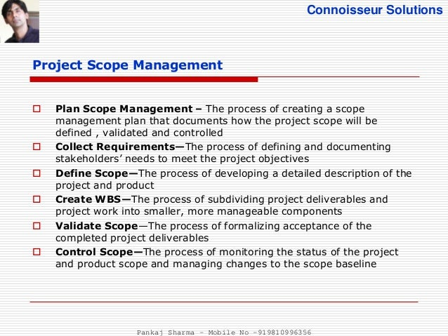 Project Scope Management - PMBOK 5th Edition