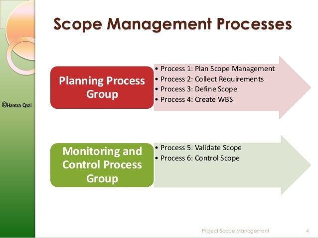 a project scope management Project scope statement the project scope statement provides a baseline understanding of the scope of a project to include the project's scope and deliverables.