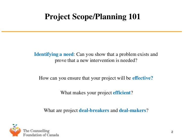 project scope presentation, Presentation templates
