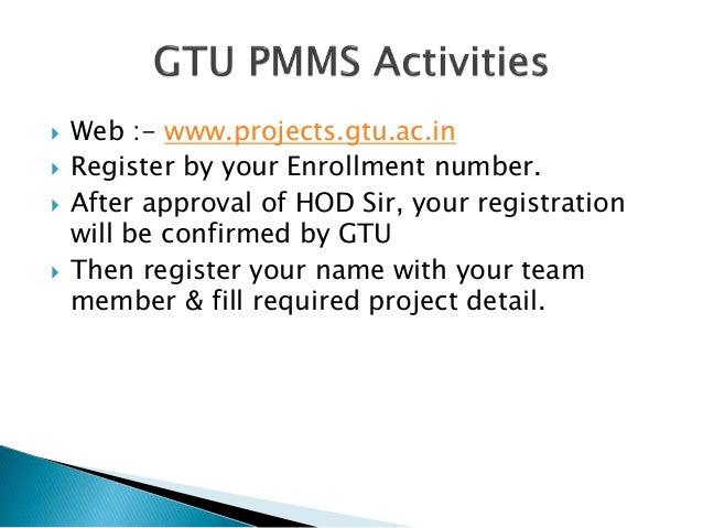 Team Registration For Design Engineering Gtu