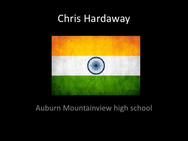 Chris Hardaway<br />Auburn Mountainview high school<br />
