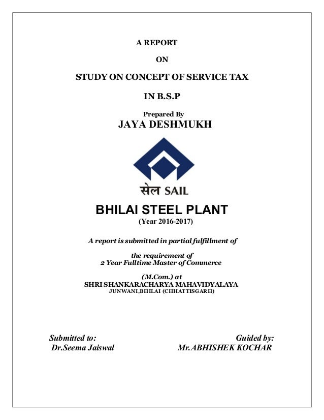 case study of bhilai steel plant To the three mild steel plants of the erstwhile hindustan steel (hsl) at bhilai,   blems of study for the public sector steel  of our case study to the erstwhile hsil.