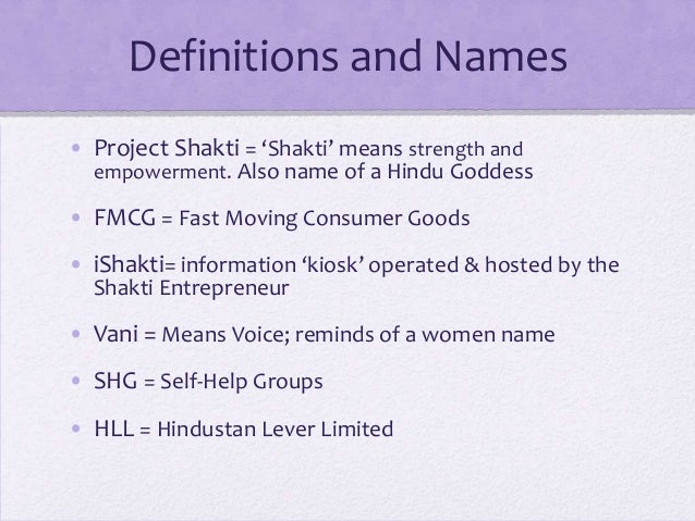 unilever in india project shakti Project shakti has helped thousands of women - and  thanks to project shakti, hindustan unilever's rural direct-to  almost 67 per cent of india lives in.