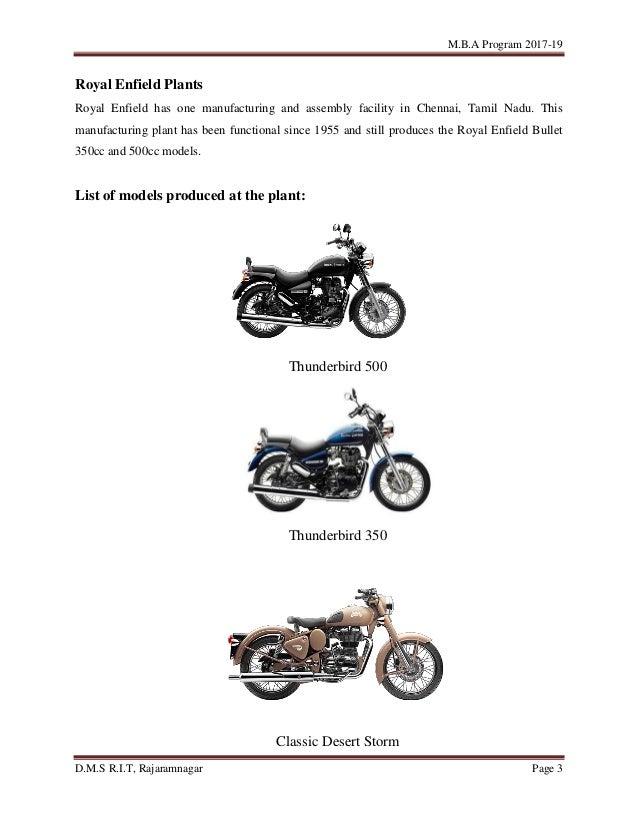 Customer satisfaction towards bikes of Royal Enfield