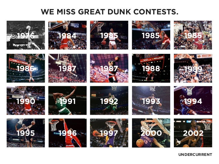 HOPEA PROPOSAL FOR THE NBA 2 WE MISS GREAT DUNK CONTESTS66