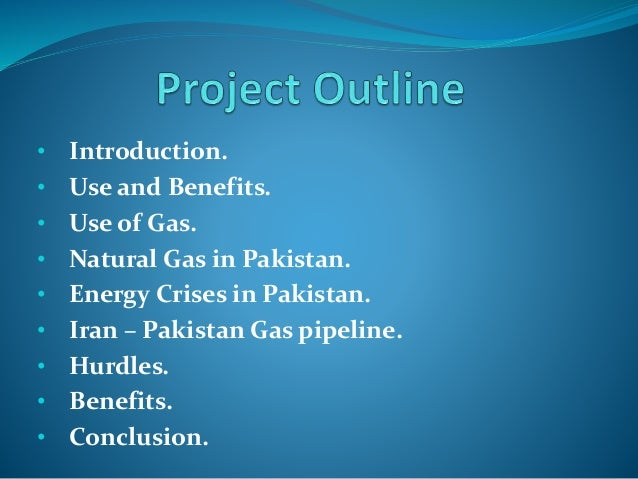 Pakistan & Iran Gas Pipeline Project