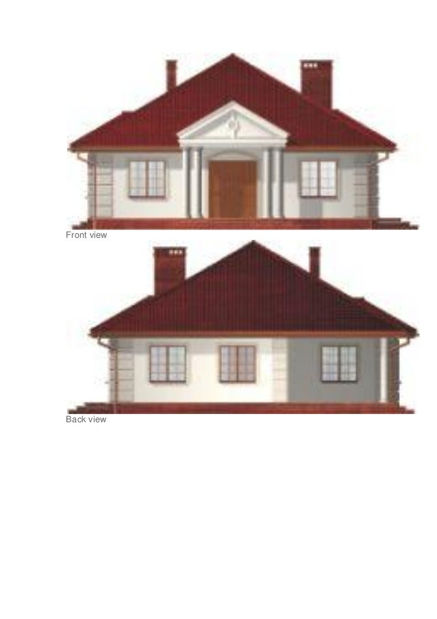 Front View Elevation Of A House : Projects of small house front elevation designs