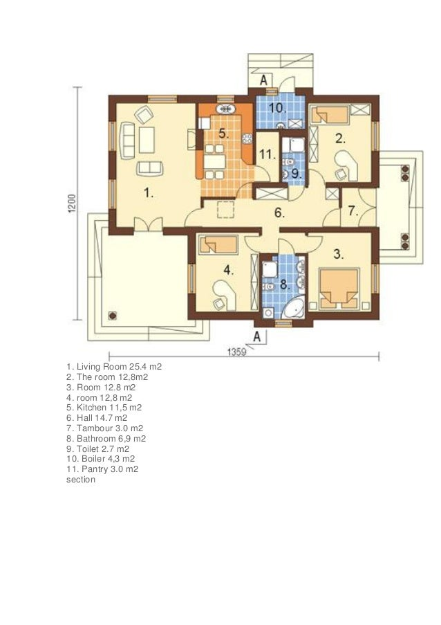 Sample Front Elevation For Small N Houses : Projects of small house front elevation designs