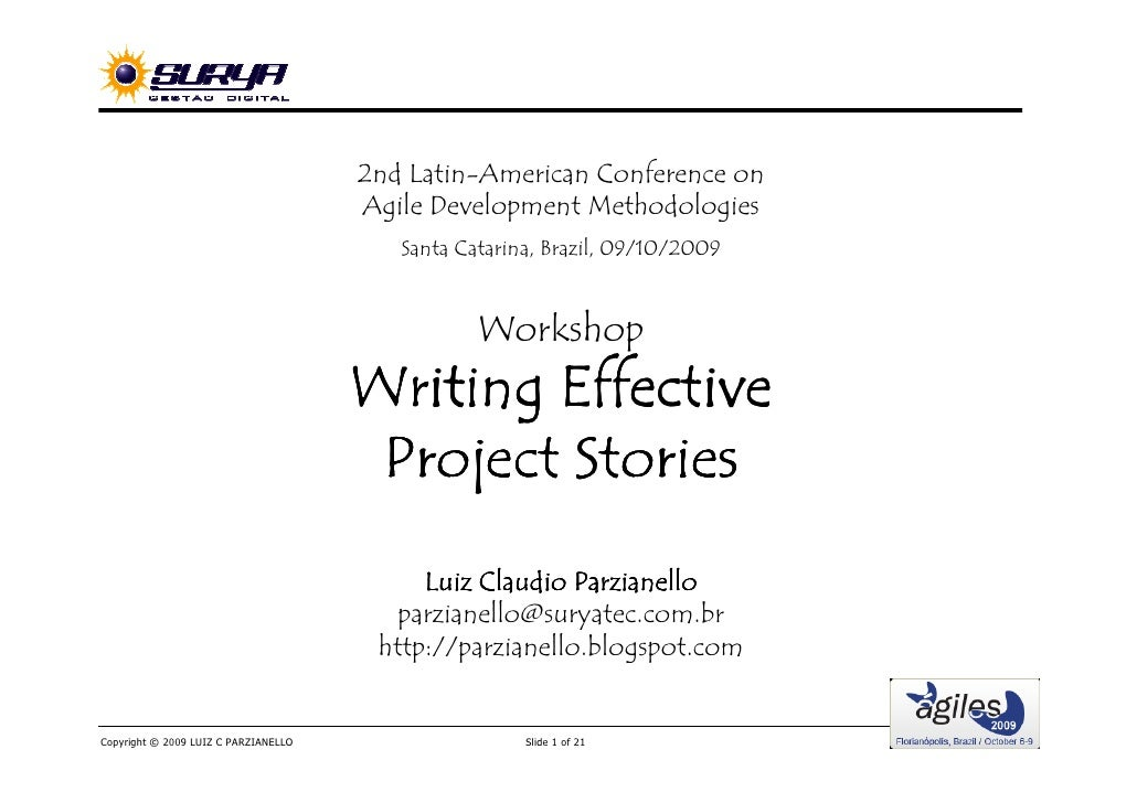2nd Latin-American Conference on                                       Agile Development Methodologies                    ...