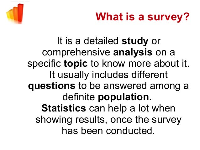 how to make a survey research paper