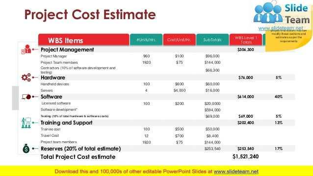 Project Task PowerPoint Presentation Slides