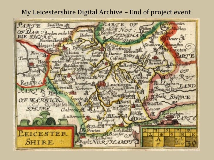 My Leicestershire Digital Archive – End of project event