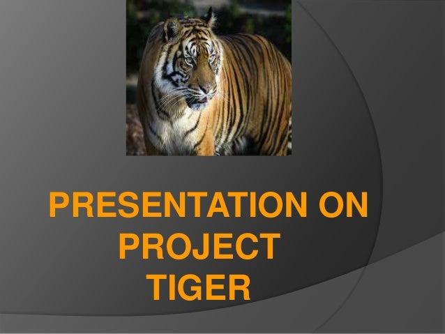 Project Tiger Pdf