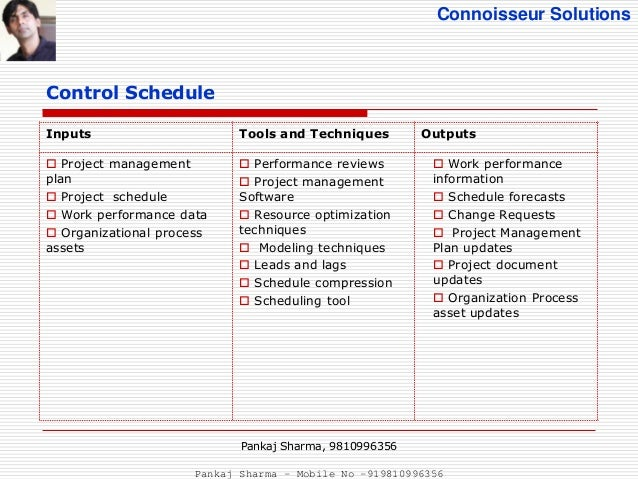 Project Scheduling Tools
