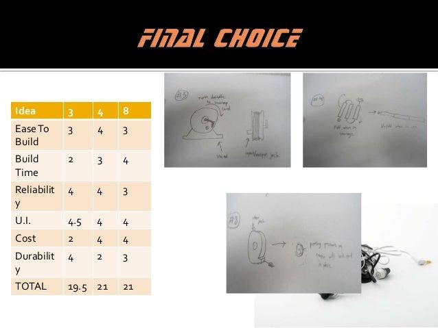 Review Design Change Design Get Materials Build Product Prototype Test Prototype