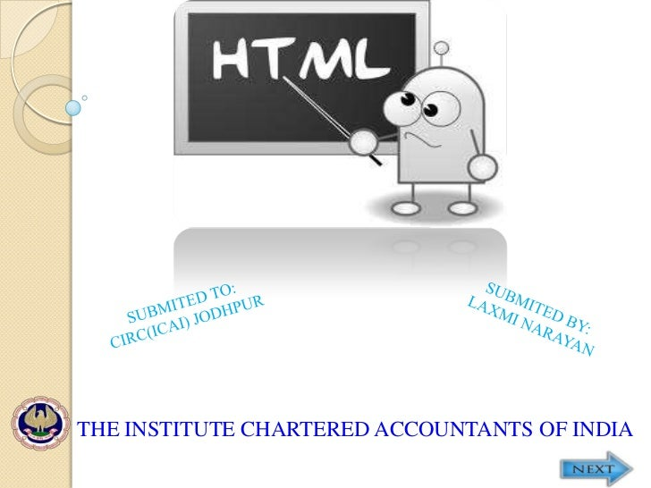 THE INSTITUTE CHARTERED ACCOUNTANTS OF INDIA