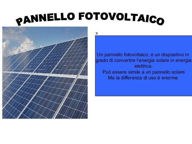 Pannello Solare Kwh : Think green project work gruppo °f maggio