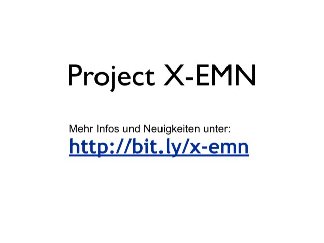 Project X-EMN