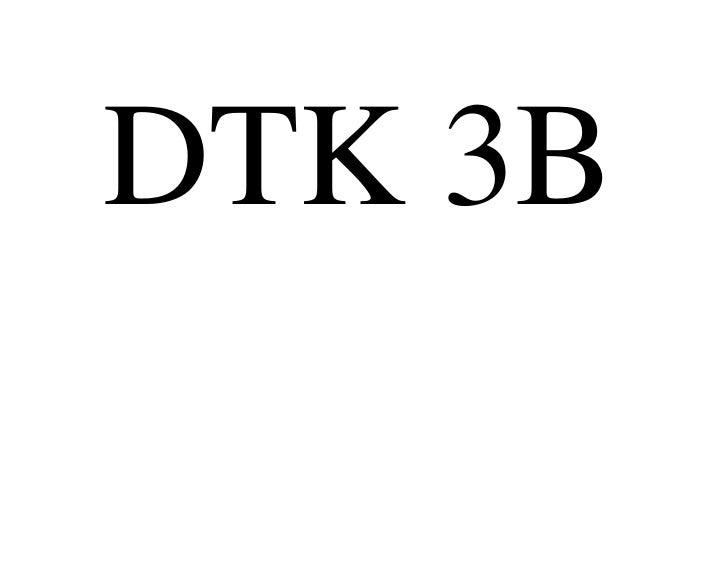 DTK 3B